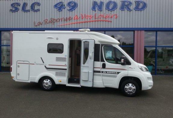 achat  Adria Compact Plus Scs SLC 49 NORD