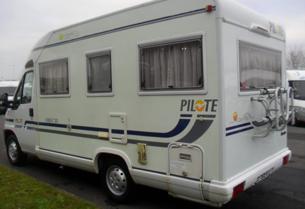 pilote first 33 occasion  porteur fiat ducato turbo 1 9