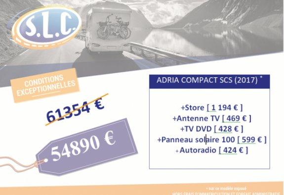 achat  Adria Compact Plus Scs SLC 37