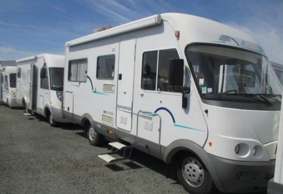hymer b574 occasion porteur fiat ducato 2 5 tdi 116ch camping car vendre en indre et loire. Black Bedroom Furniture Sets. Home Design Ideas