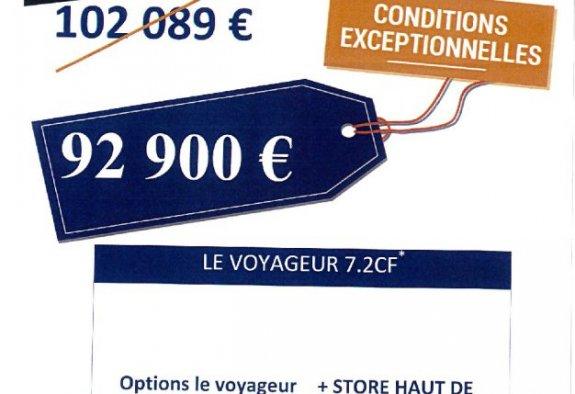 achat  Le Voyageur 7.2 Cf SLC 37