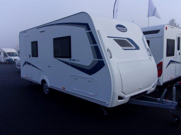 achat caravane / mobil home Caravelair 460 SLC 72 CARRE