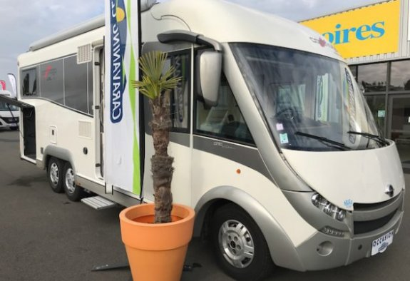 achat  Carthago Chic E-Line 51 CARAVANING CENTRAL ANGERS