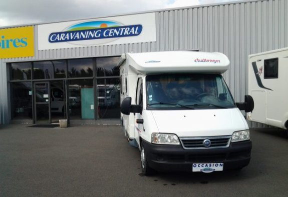 achat  Challenger 101 CARAVANING CENTRAL ANGERS