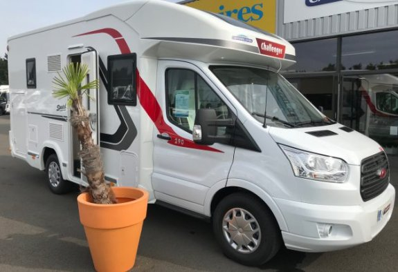 achat escc Challenger 290 Edition Speciale CARAVANING CENTRAL ANGERS