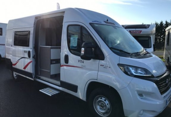 achat  Challenger Vany 114 Start CARAVANING CENTRAL ANGERS