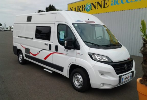 achat escc Challenger Vany 124 CARAVANING CENTRAL ANGERS