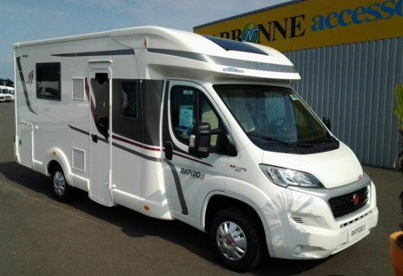 achat  Rapido 650 F CARAVANING CENTRAL ANGERS