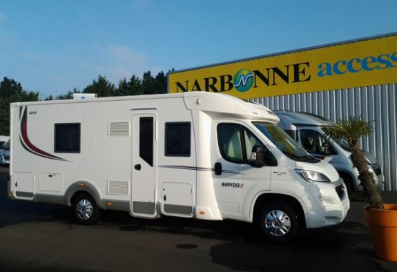 achat  Rapido 665 F CARAVANING CENTRAL ANGERS