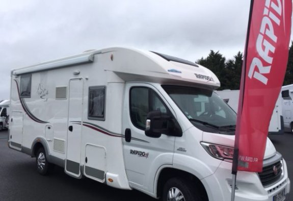achat  Rapido 691 FF CARAVANING CENTRAL ANGERS