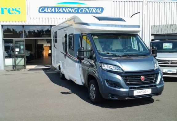 achat  Rapido 696 F Premium Edition CARAVANING CENTRAL ANGERS