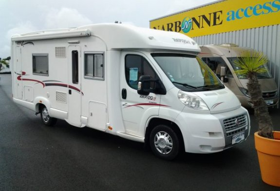 achat  Rapido 7099 C CARAVANING CENTRAL ANGERS