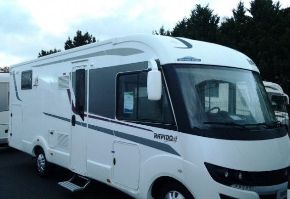 achat  Rapido 890 F CARAVANING CENTRAL ANGERS