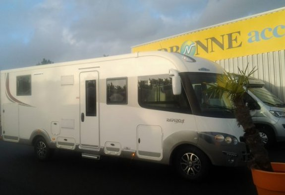 achat  Rapido 9000 DFH Design Edition CARAVANING CENTRAL ANGERS