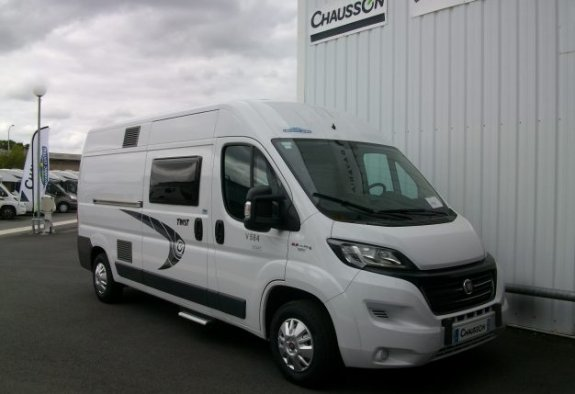 achat  Chausson Twist V 584 Start CARAVANING CENTRAL CHOLET