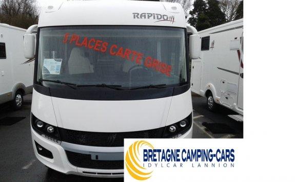 achat  Rapido 850 F BRITWAYS CAR LANNION
