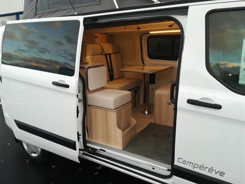 campereve cap land neuf  porteur ford transit custom 2l
