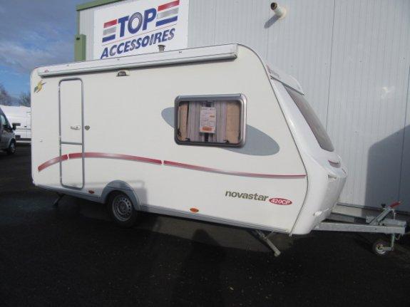 achat caravane / mobil home Sterckeman Novastar 420 CP CHAMPION CARAVANES