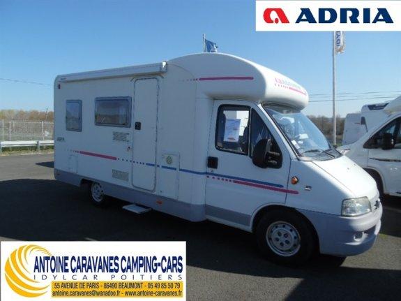achat  Adria 573 DS ANTOINE CARAVANES-CAMPING-CARS