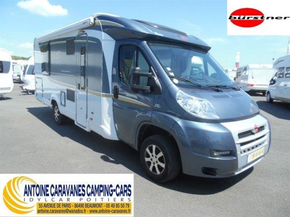 achat  Burstner Nexxo T 740 ANTOINE CARAVANES-CAMPING-CARS