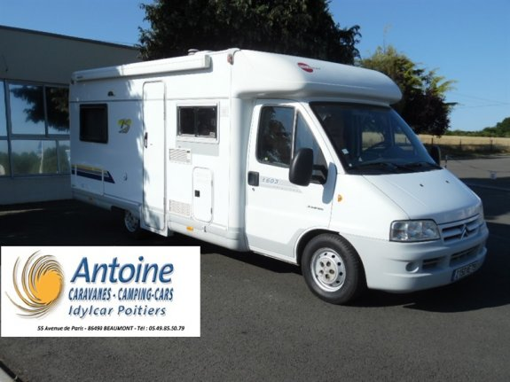 achat  Burstner Privilege T 603 ANTOINE CARAVANES-CAMPING-CARS