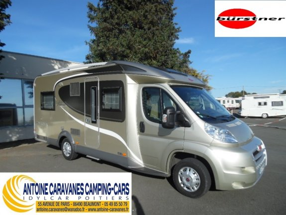 achat  Burstner Privilege T 615 ANTOINE CARAVANES-CAMPING-CARS