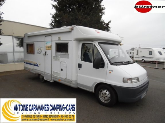 achat  Burstner T 603 ANTOINE CARAVANES-CAMPING-CARS