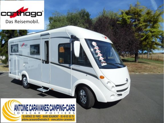 achat  Carthago C Compactline I 143 ANTOINE CARAVANES-CAMPING-CARS