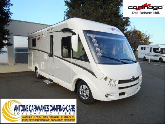 achat  Carthago C-Tourer I 144 Qb ANTOINE CARAVANES-CAMPING-CARS