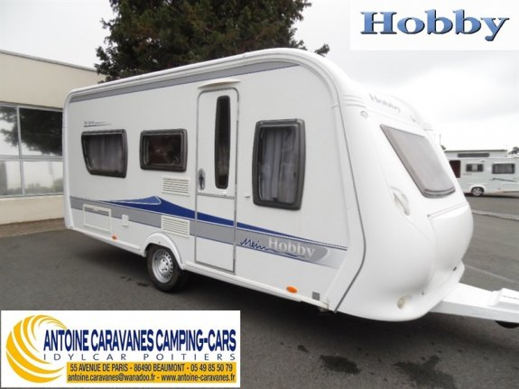 achat caravane / mobil home Hobby 460 UFe De Luxe ANTOINE CARAVANES-CAMPING-CARS