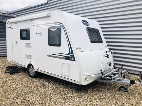 achat caravane / mobil home Caravelair 420 CARAVANE SERVICE JOUSSE ROUEN NORD