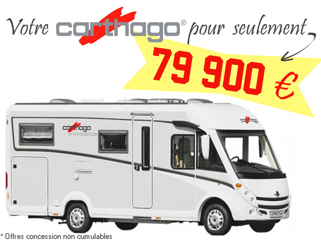 carthago c tourer i 144 neuf porteur fiat ducato l multijet 150ch diesel camping car vendre. Black Bedroom Furniture Sets. Home Design Ideas