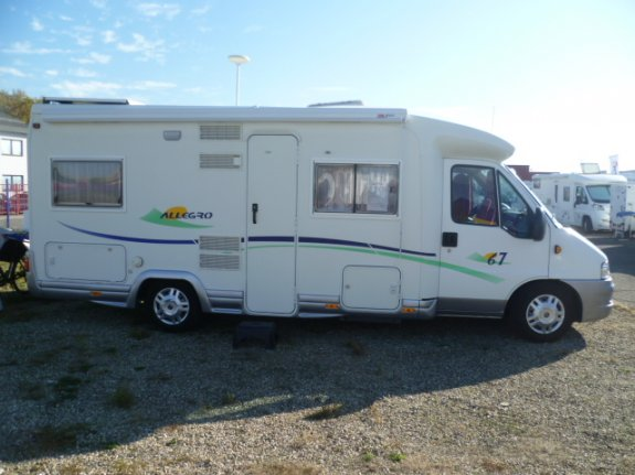 achat  Chausson Allegro 67 LAURENT CAMPING-CARS