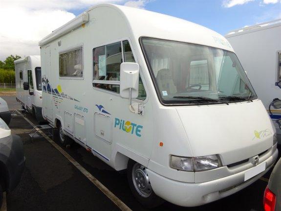 achat  Pilote Galaxy 270 CAMPING CARS DE TOURAINE