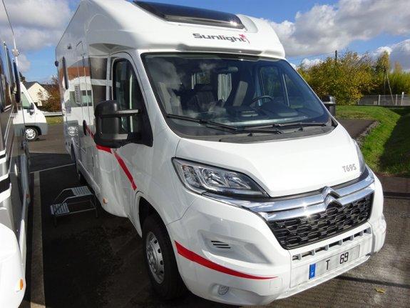 achat  Sunlight T 69 S CAMPING CARS DE TOURAINE