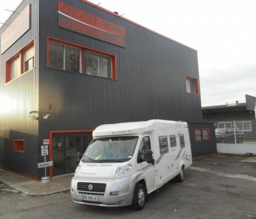 achat escc Fleurette Migrateur 73 LJ OCCITANIE CAMPING-CARS