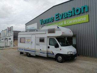 achat escc Burstner A 574-3 Erables YONNE EVASION CAMPING CARS