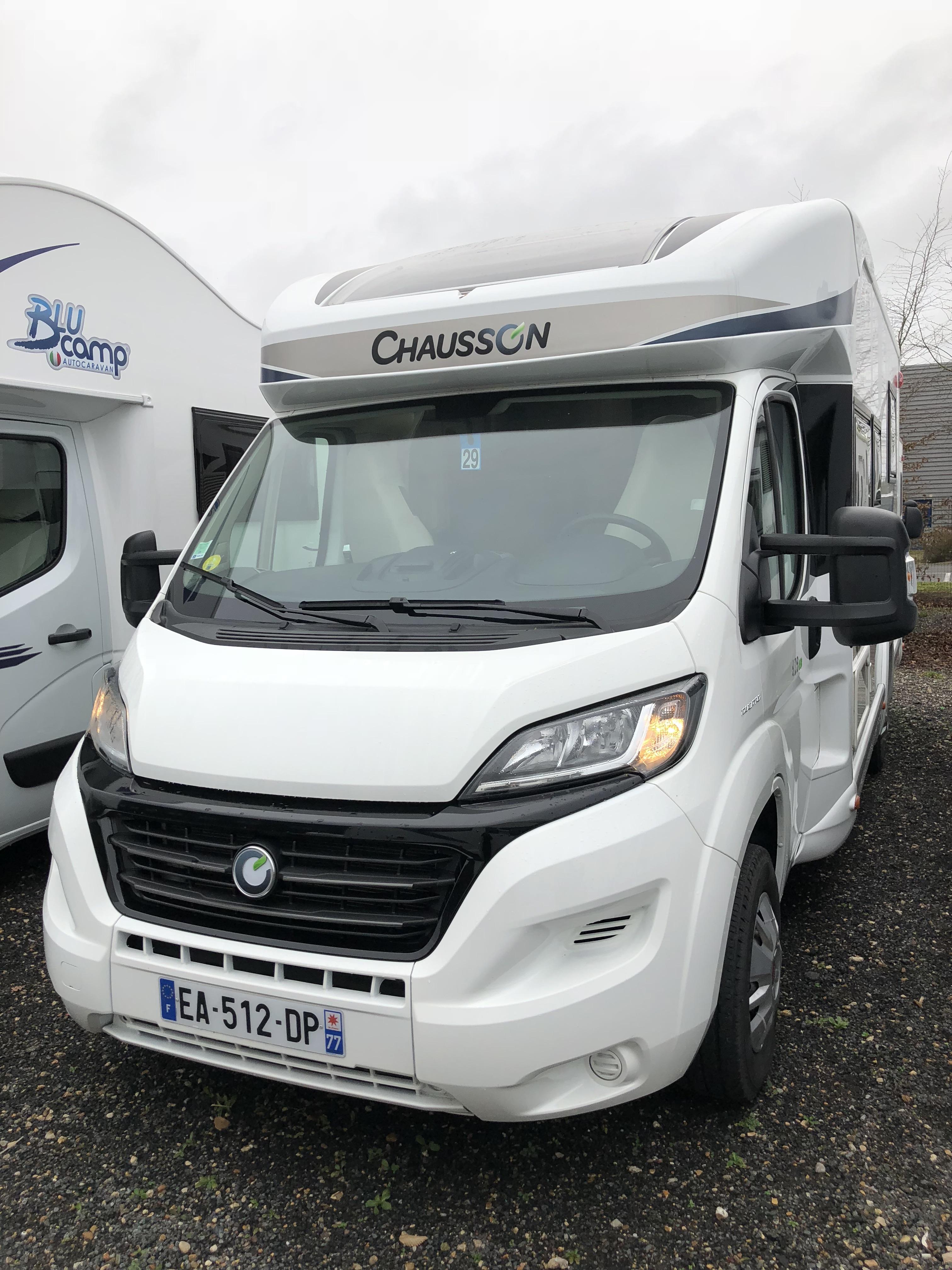 chausson 628 eb occasion porteur fiat ducato 2 3 130 cv camping car vendre en seine et marne. Black Bedroom Furniture Sets. Home Design Ideas