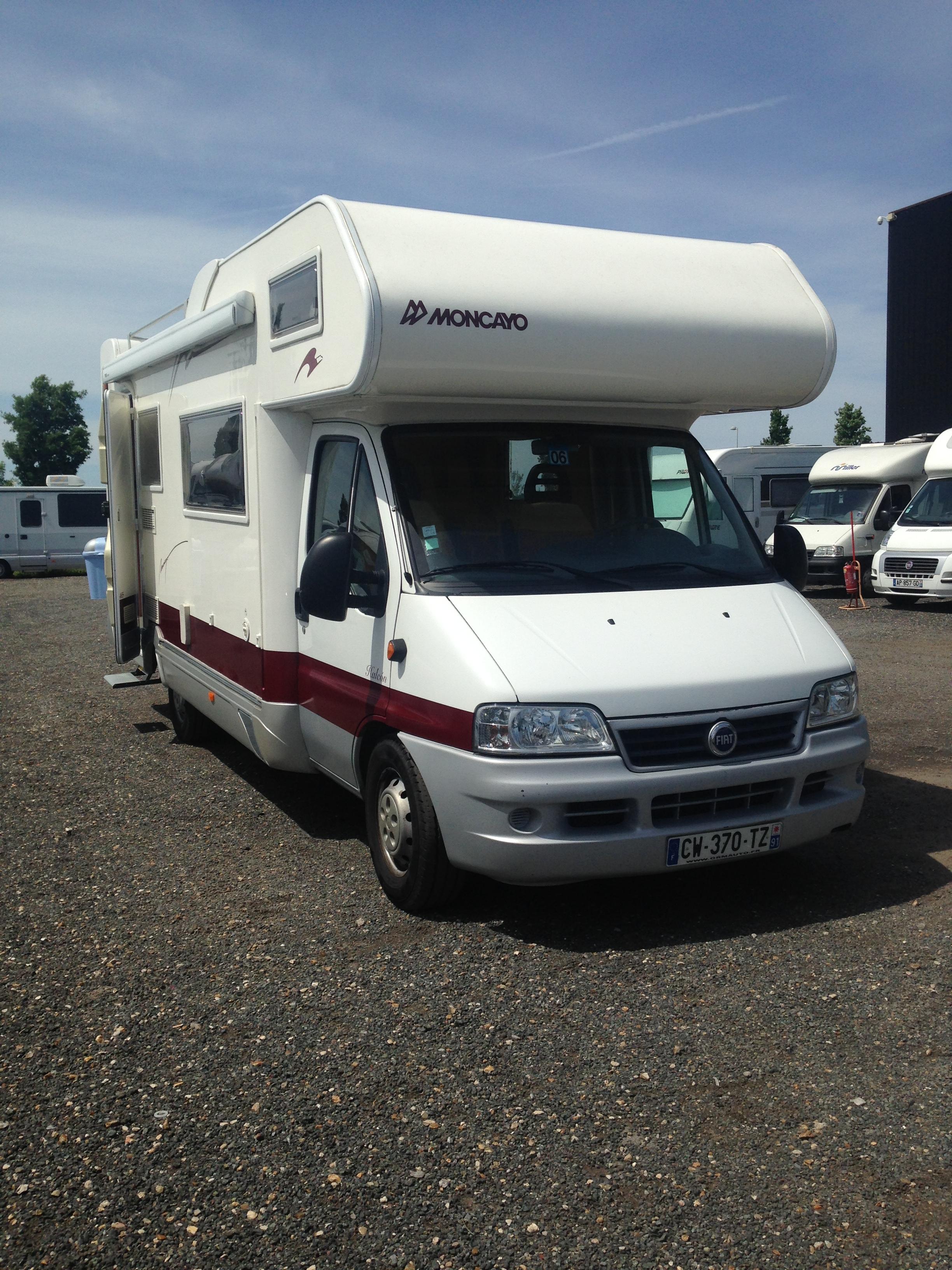 Camping Car Fiat Moncayo L