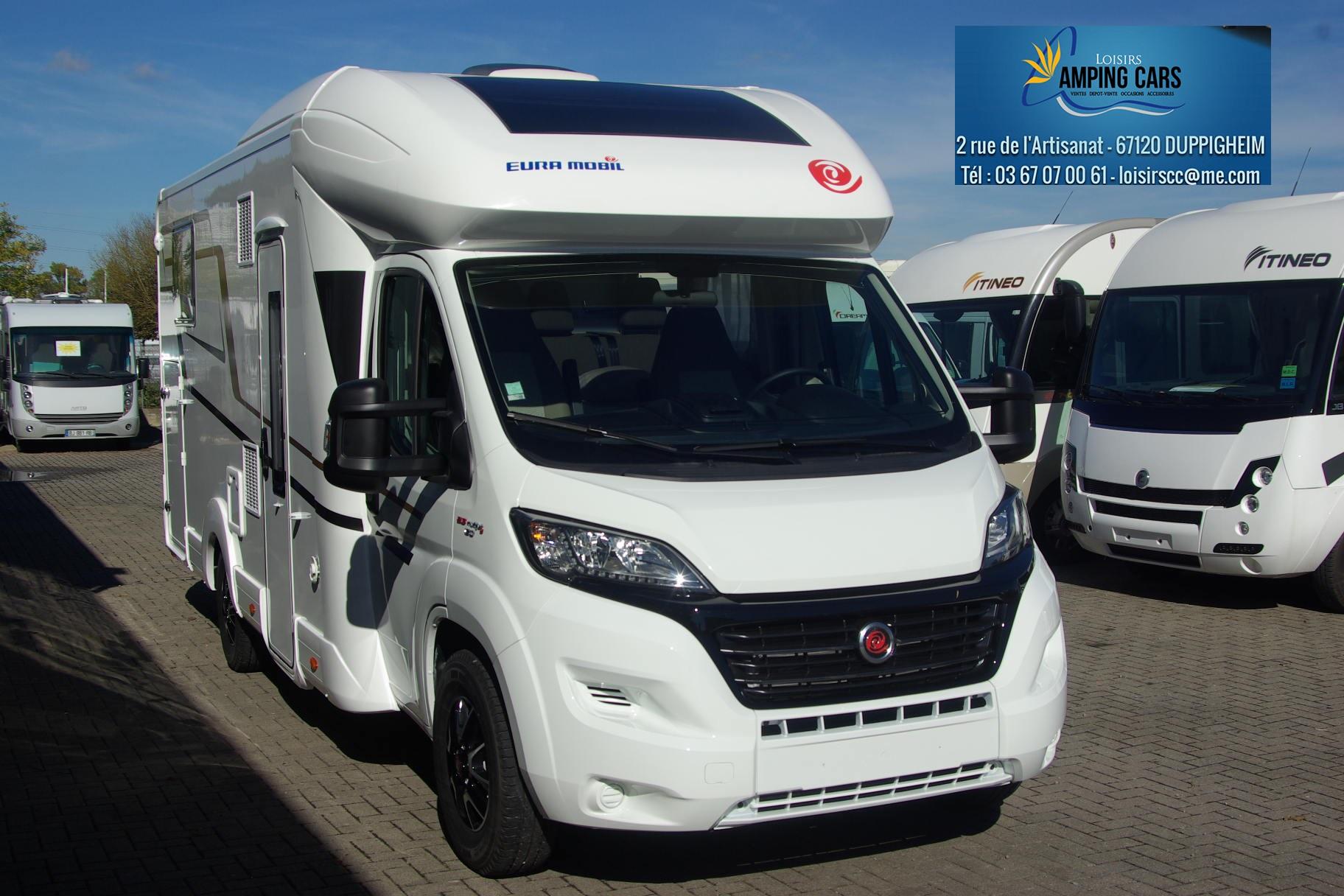eura mobil profila rs 720 qb neuf porteur fiat ducato 130cv camping car vendre en rhin. Black Bedroom Furniture Sets. Home Design Ideas