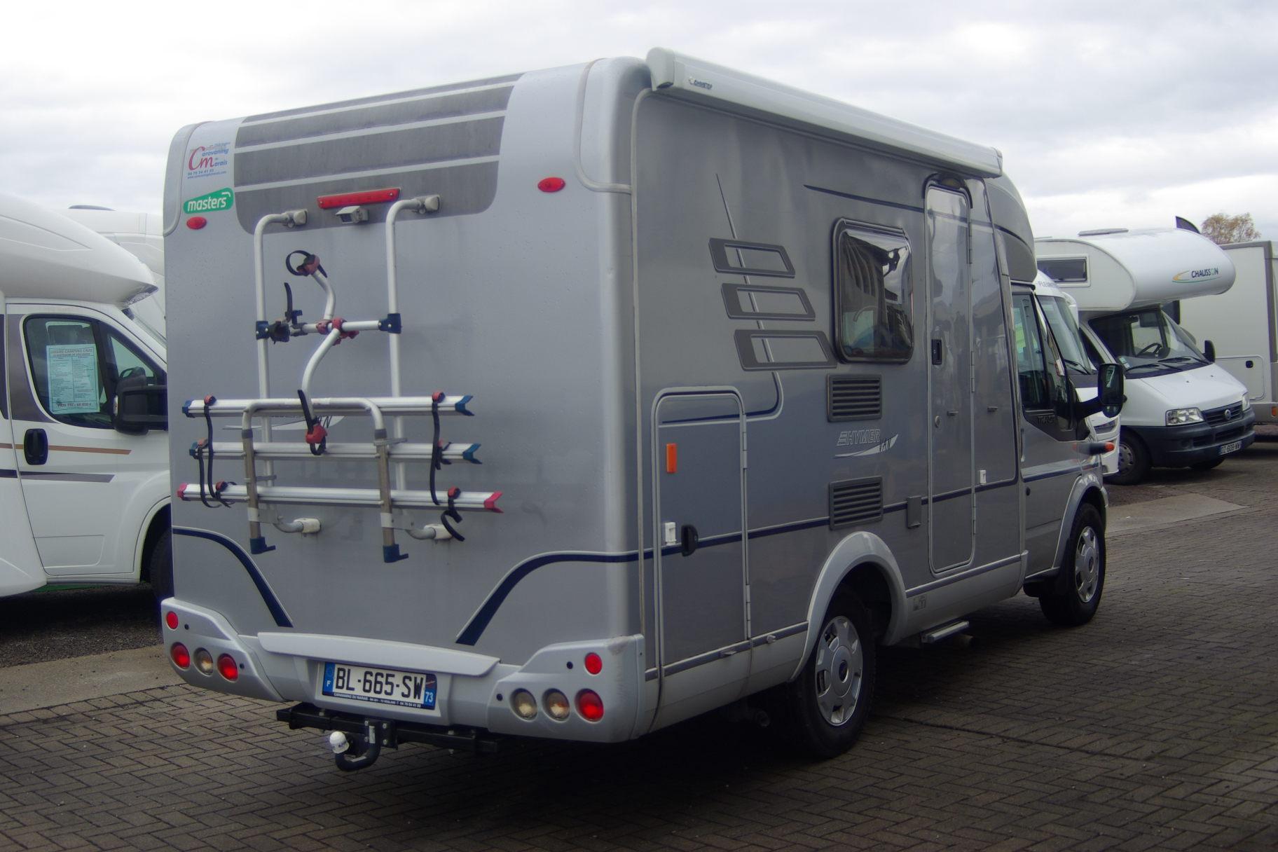 hymer van 522 occasion porteur ford ford transit 2 2 l30cv camping car vendre en rhin 67. Black Bedroom Furniture Sets. Home Design Ideas