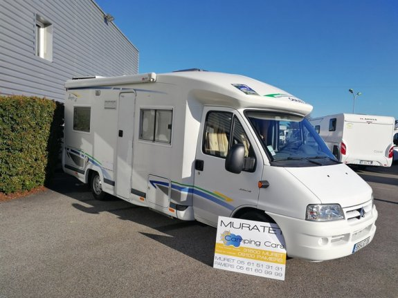 achat  Chausson Allegro 67 MURATET CAMPING CARS 09