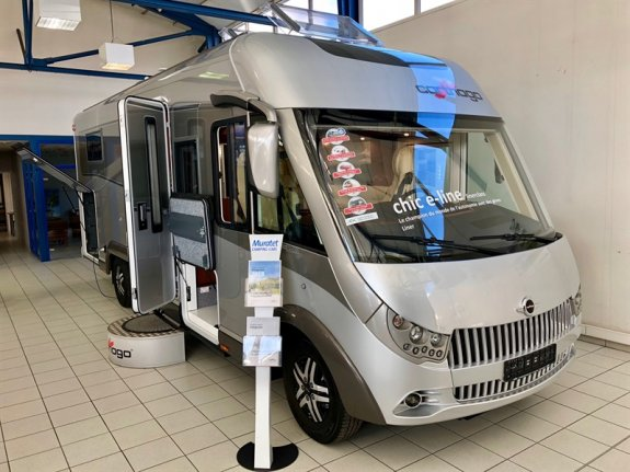 achat  Carthago Chic E-Line 51 MURATET CAMPING CARS 31