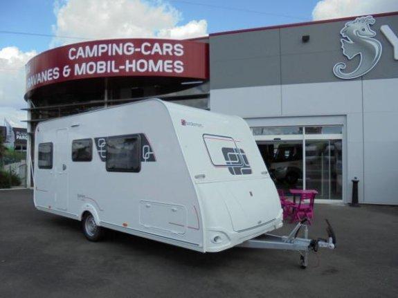 achat caravane / mobil home Sterckeman Starlett Comfort 480 CP YPO CAMP ESPACE CECV