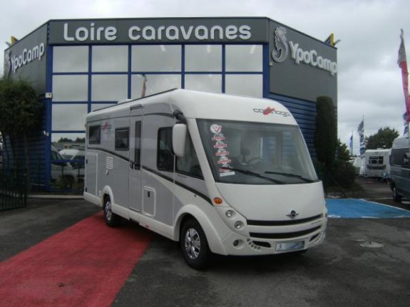 achat  Carthago C Compactline I 143 YPO CAMP LOIRE CARAVANES