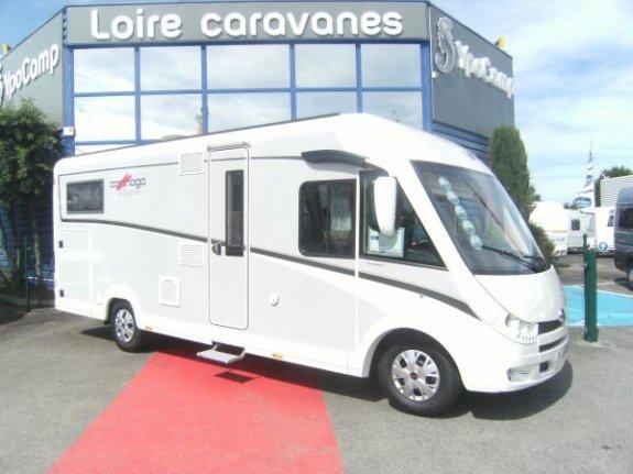 achat  Carthago C-tourer I 144 YPO CAMP LOIRE CARAVANES