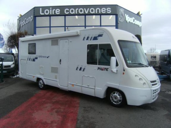 achat  Pilote Reference G 740 LCR YPO CAMP LOIRE CARAVANES