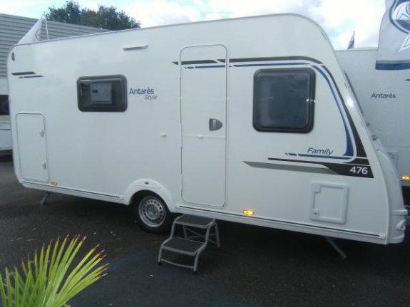 achat caravane / mobil home Caravelair Antares Style 476 YPO CAMP LOIRE CARAVANES