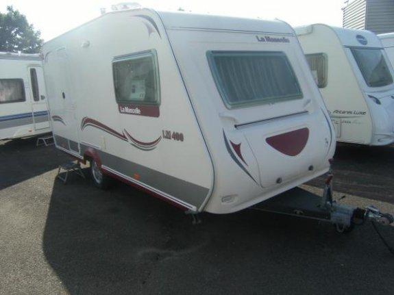 achat caravane / mobil home La Mancelle 400 CB YPO CAMP LOIRE CARAVANES
