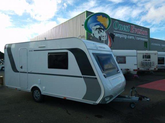 achat caravane / mobil home La Mancelle 440 Cbm Elegance YPO CAMP OUEST EVASION